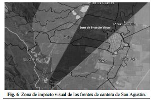 : Unidades geomorfológicas en zona de San Agustín.